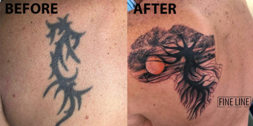 Mike - Cover up tattoo