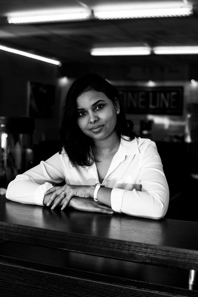 Nazmeera Sheik, Fine Line Studio Manager.