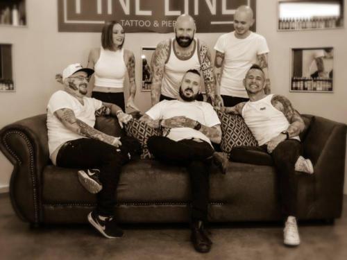 The original Fine Line team