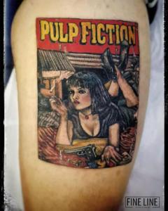 Pulp Fiction tattoo
