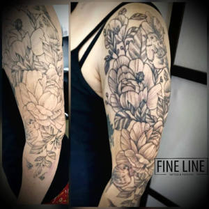 Sleeve reworked by Cindy