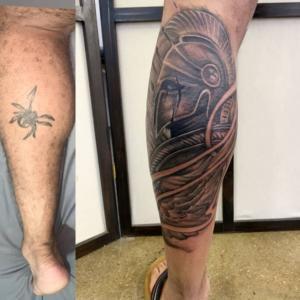 Mythological tattoo