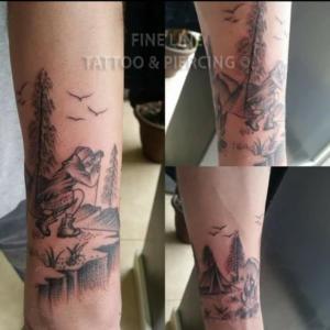 Birdwatcher tattoo