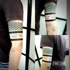 Bands and Big Five tattoo