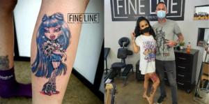 Bratz Doll Tattoo